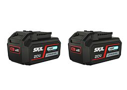 "SKIL 3105 BA ""20V Max"" (18V) 5,0Ah Li-Ion akkumulátor ""Keep Cool™"" technológiával (2 db)"