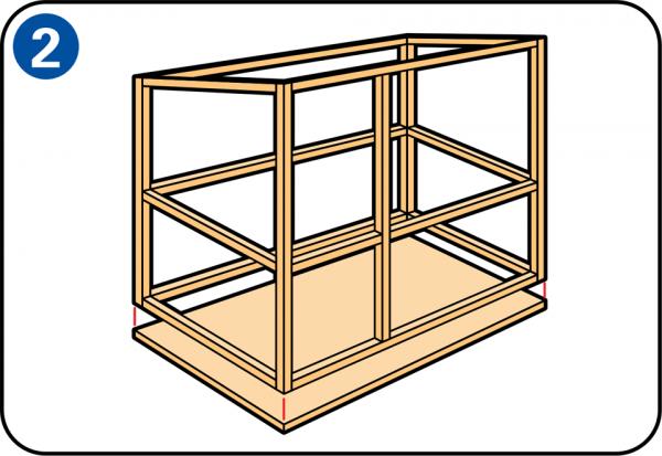 Építsen saját nyúlketrecet
